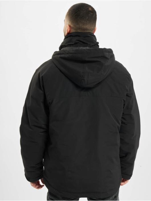Urban Classics winterjas Multipocket zwart