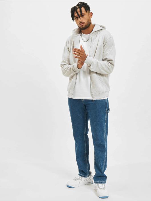 Urban Classics Zip Hoodie Melange šedá