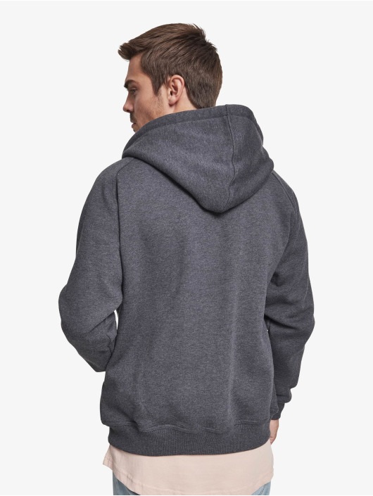 Urban Classics Zip Hoodie Blank серый