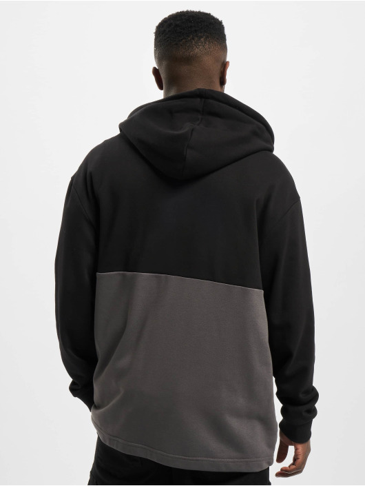 Urban Classics Zip Hoodie Relaxed Half black