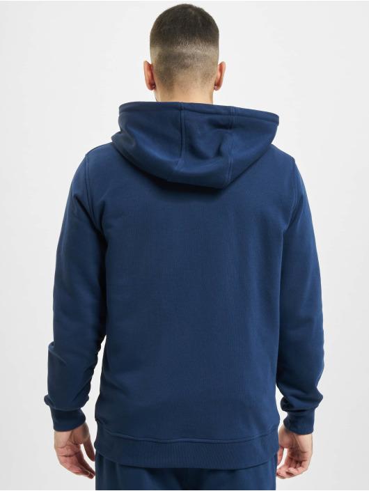 Urban Classics Zip Hoodie Basic Terry blau