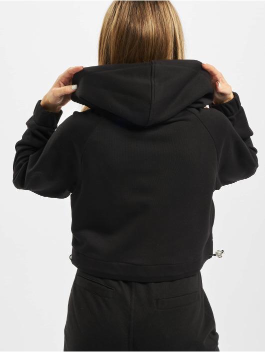 Urban Classics Zip Hoodie Short Worker czarny