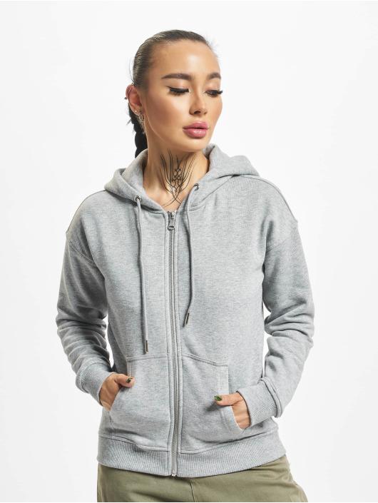 Urban Classics Zip Hoodie Classic grå