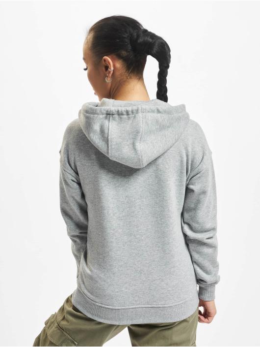 Urban Classics Zip Hoodie Classic gray