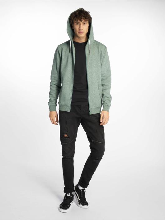 Urban Classics Zip Hoodie Melange green