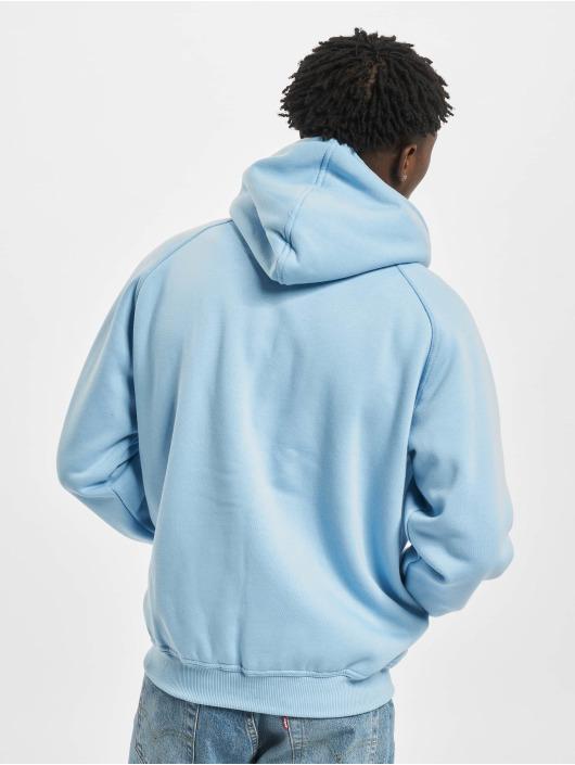 Urban Classics Zip Hoodie Blank niebieski