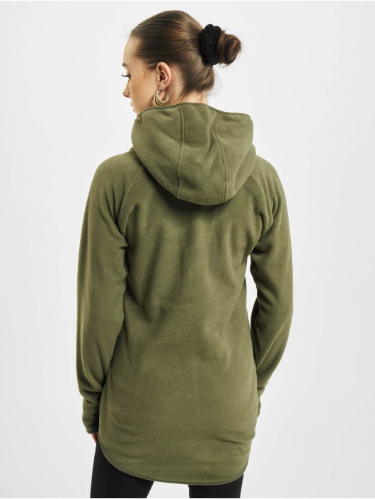 Urban Classics Zip Hoodie Polar Fleece olive