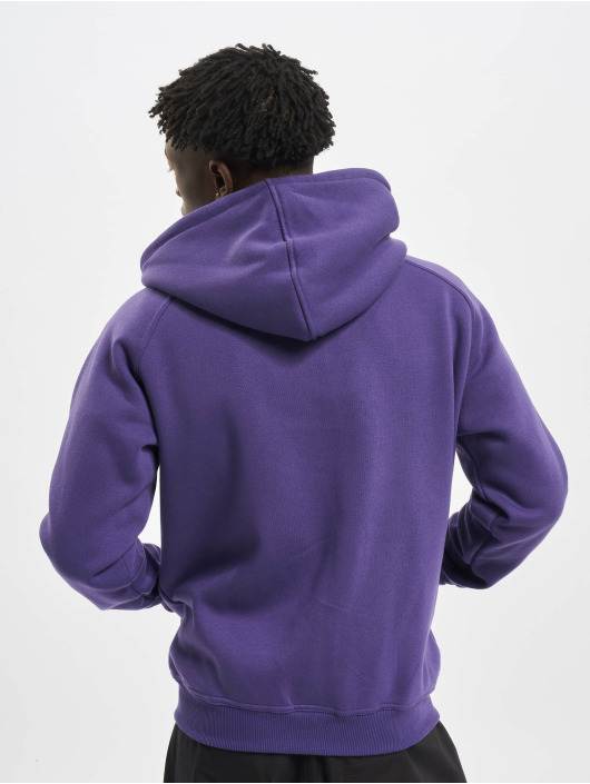 Urban Classics Zip Hoodie Blank purple