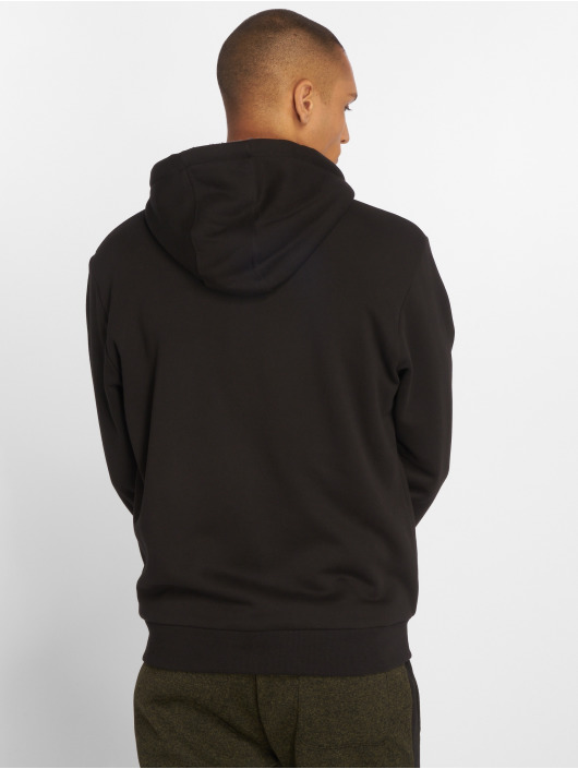 Urban Classics Zip Hoodie Sherpa Lined schwarz