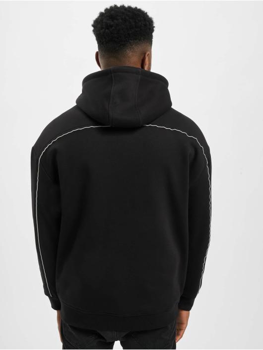 Urban Classics Zip Hoodie Reflective schwarz