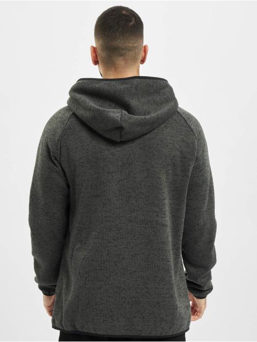 Urban Classics Zip Hoodie Knit Fleece szary