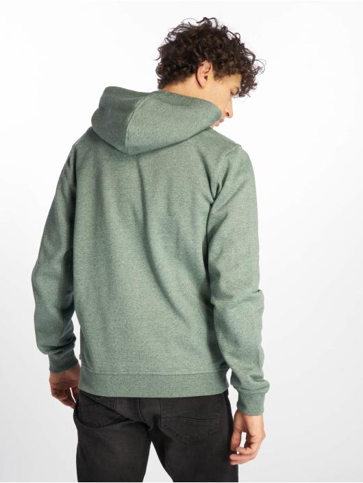 Urban Classics Zip Hoodie Melange zelená