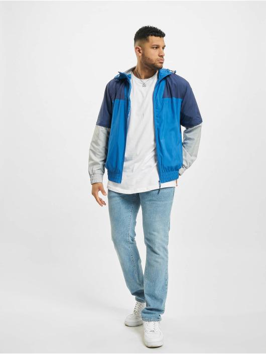 Urban Classics Zomerjas Zip Away blauw