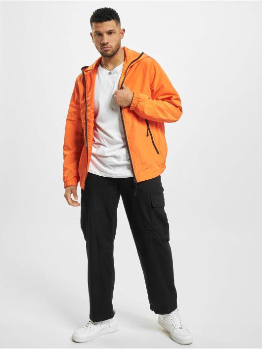 Urban Classics Zomerjas Full Zip Nylon Crepe oranje