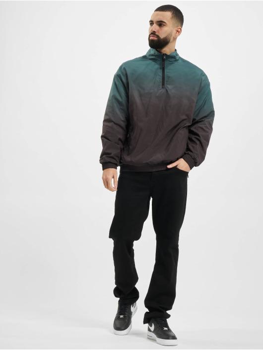Urban Classics Zomerjas Gradient Pull Over zwart