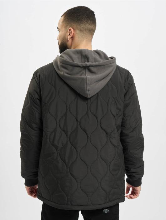 Urban Classics Zomerjas Quilted zwart