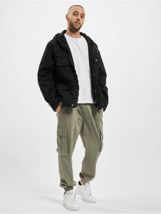 Urban Classics Zomerjas Cotton Field zwart