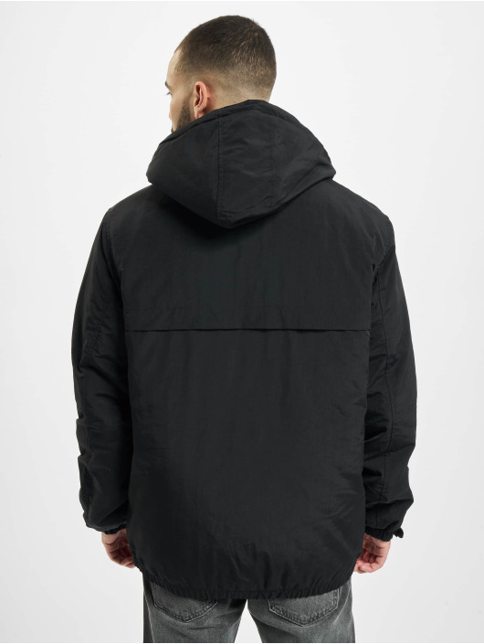 Urban Classics Zomerjas Hooded Easy zwart