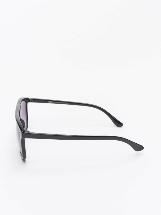 Urban Classics Zonnebril Sunglasses Mykonos With Chain zwart