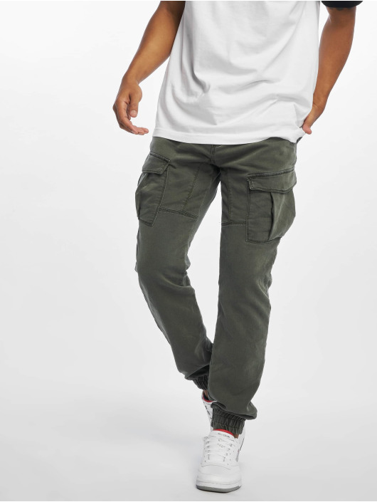 Urban Surface Cargo pants Jimmy zelený