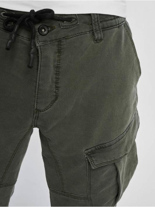 Urban Surface Cargo pants Jimmy zelený