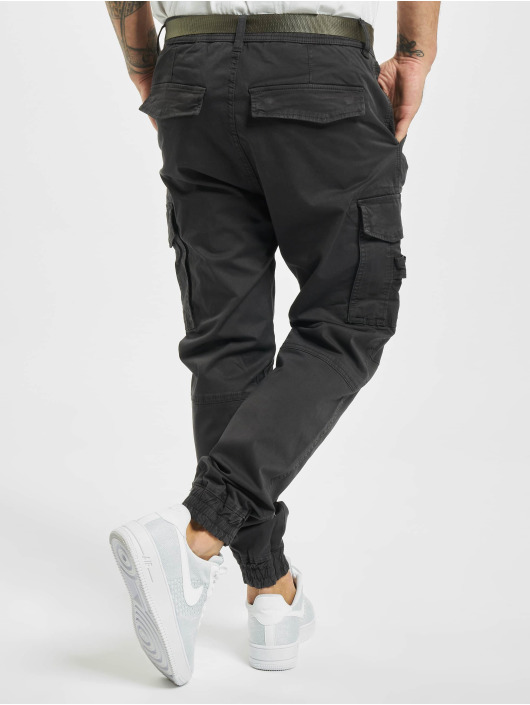 Urban Surface Chino bukser Belt grå