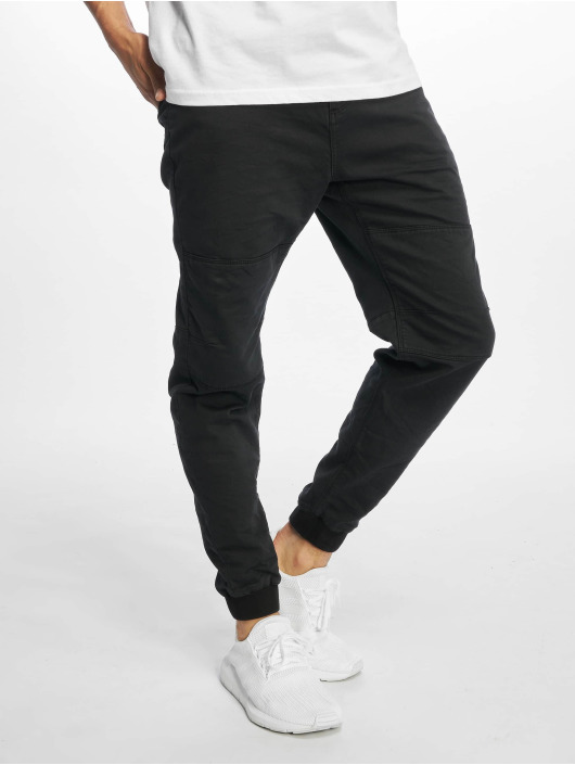 Urban Surface Chino Sweat Denim Optics negro