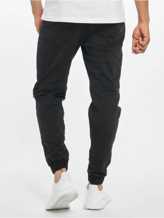 Urban Surface Chino Sweat Denim Optics zwart