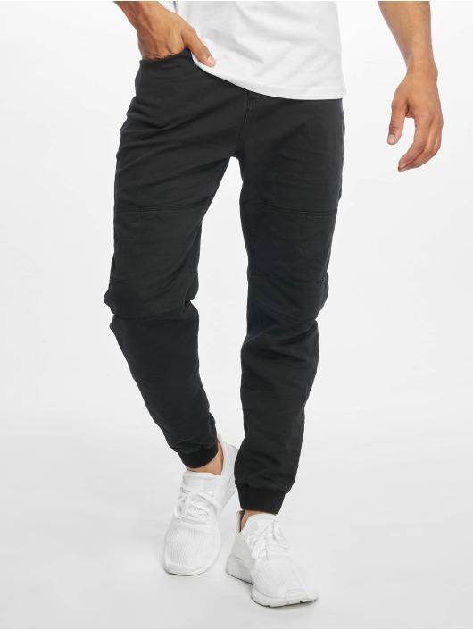 Urban Surface Látkové kalhoty Sweat Denim Optics čern
