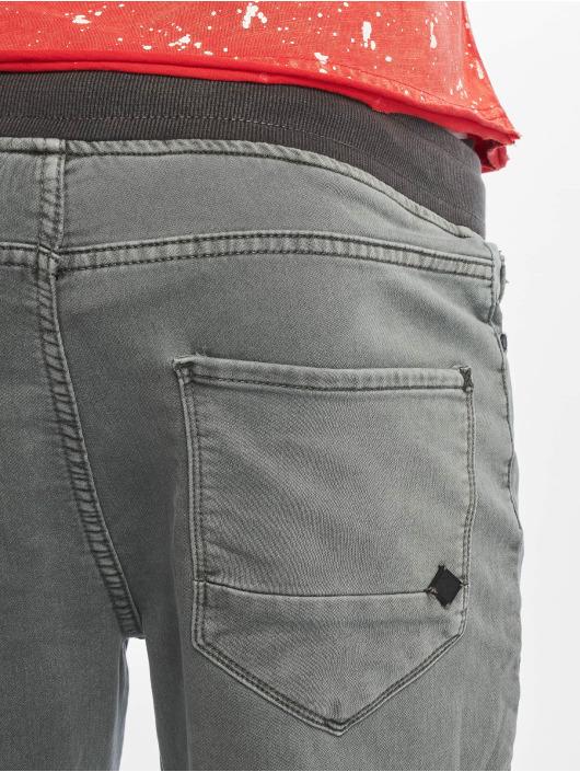 Urban Surface Látkové kalhoty Sweat Denim Optics šedá