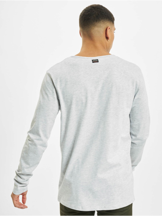 Urban Surface Longsleeves Button šedá