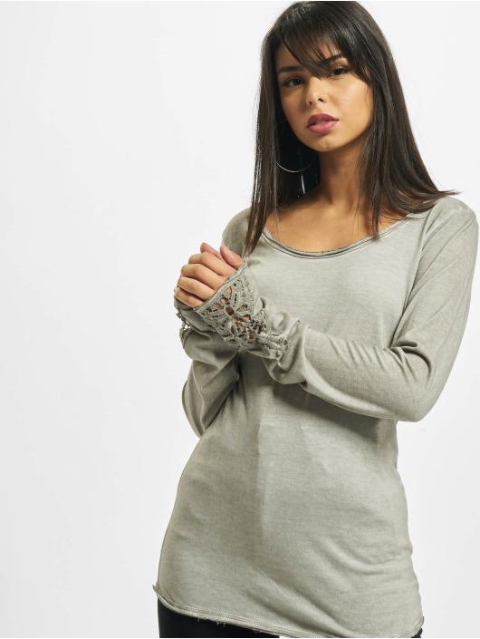 Urban Surface Maglietta a manica lunga Marlene grigio