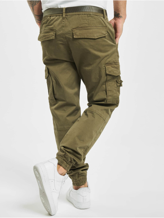 Urban Surface Pantalon cargo Belt vert