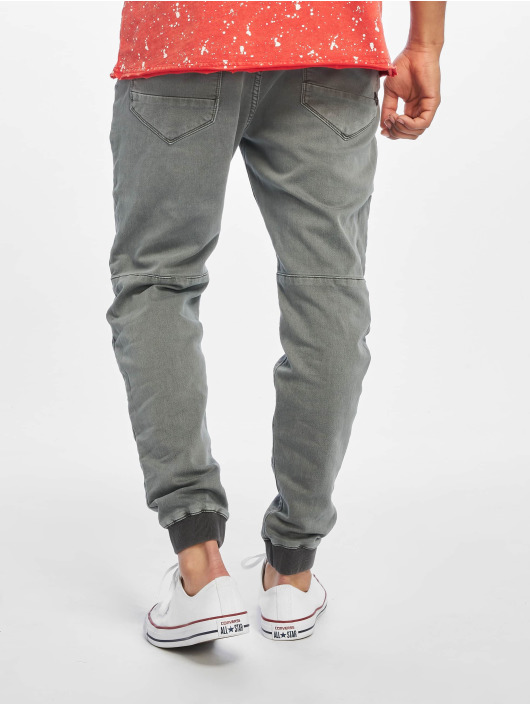 Urban Surface Pantalone chino Sweat Denim Optics grigio