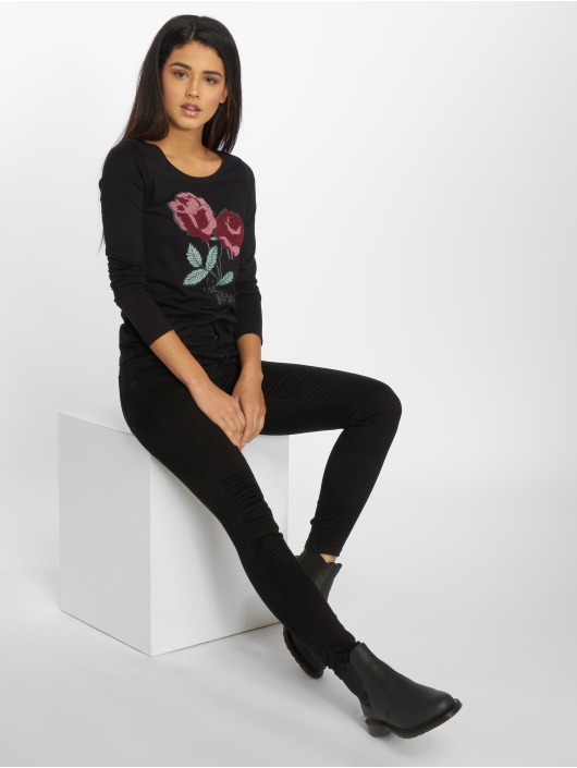 Urban Surface Pitkähihaiset paidat Black musta