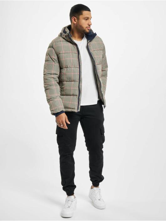 Urban Surface Puffer Jacket Checked beige