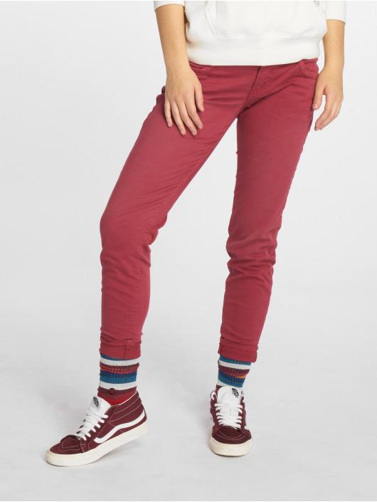 Urban Surface Skinny Jeans Lönna červený
