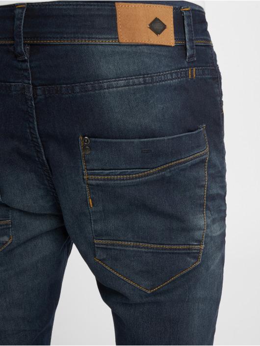 Urban Surface Skinny Jeans Stone Washed blau