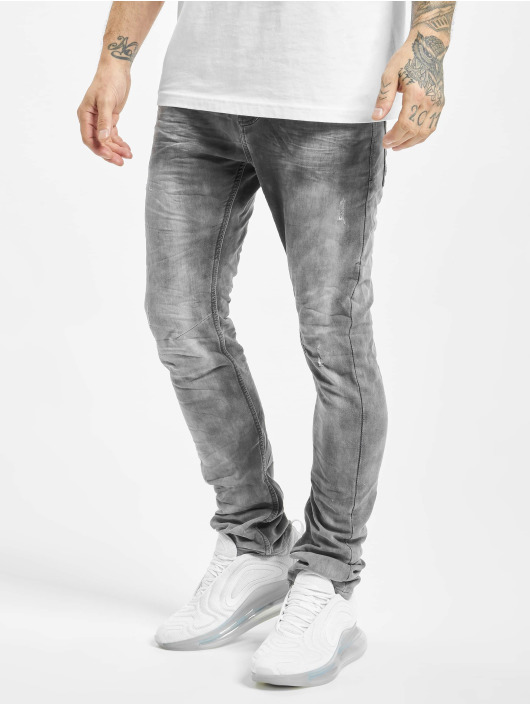 Urban Surface Slim Fit Jeans Washed grå