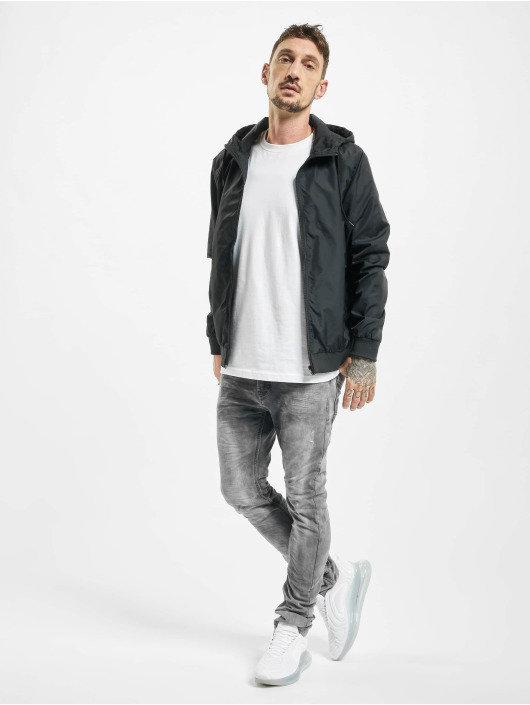 Urban Surface Slim Fit Jeans Washed grigio