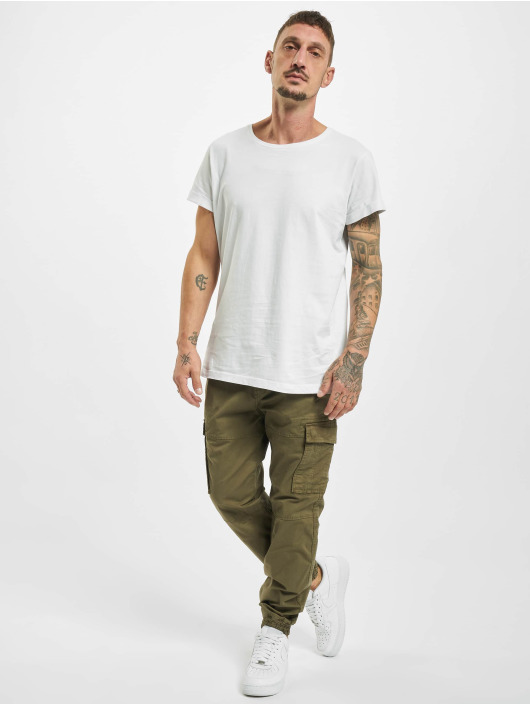 Urban Surface Spodnie Chino/Cargo Belt zielony