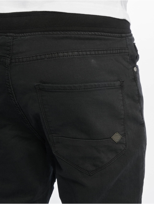 Urban Surface Stoffbukser Sweat Denim Optics svart