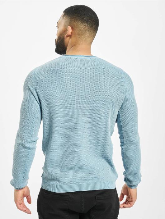 Urban Surface Swetry Crewneck niebieski