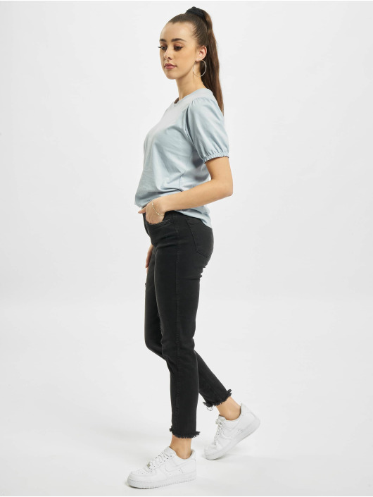 Urban Surface T-Shirt Ruffles bleu