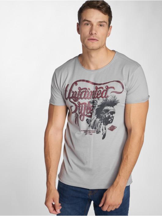 Urban Surface T-Shirt Top gris