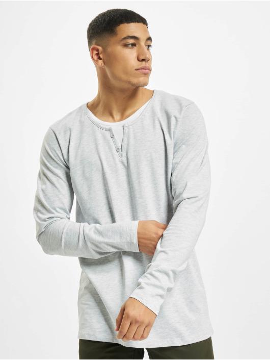 Urban Surface T-Shirt manches longues Button gris
