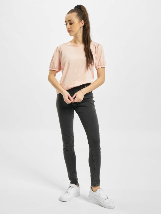 Urban Surface T-Shirt Ruffles rosa