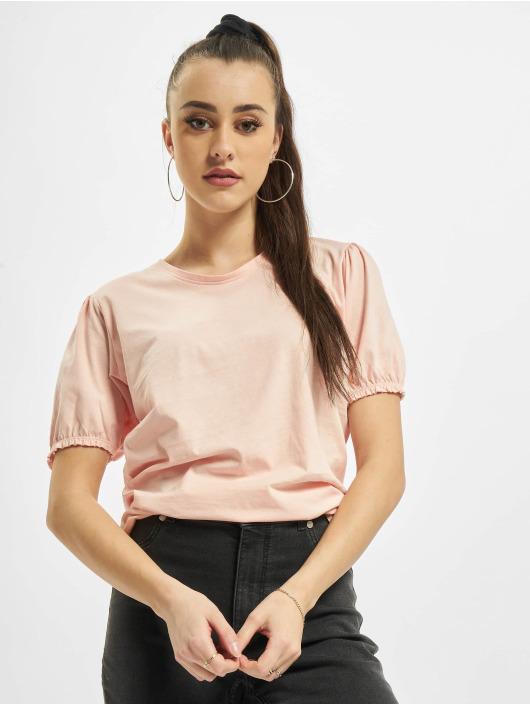 Urban Surface T-Shirt Ruffles rose