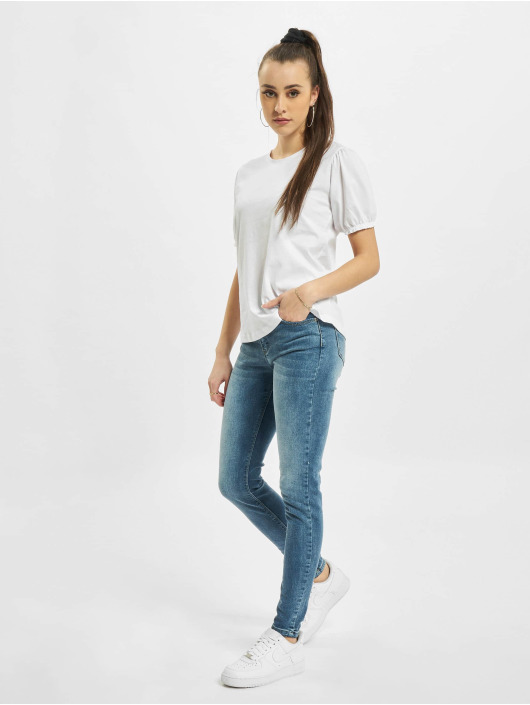 Urban Surface T-shirt Ruffles vit