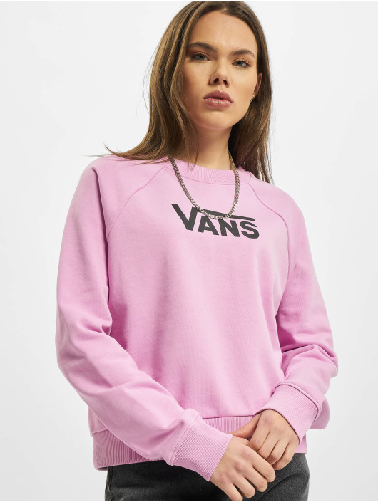 Vans Пуловер Wm Flying V Ft Boxy Crew розовый